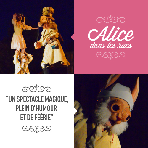 Alice dans les rues